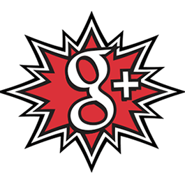 comic book Google+ icon